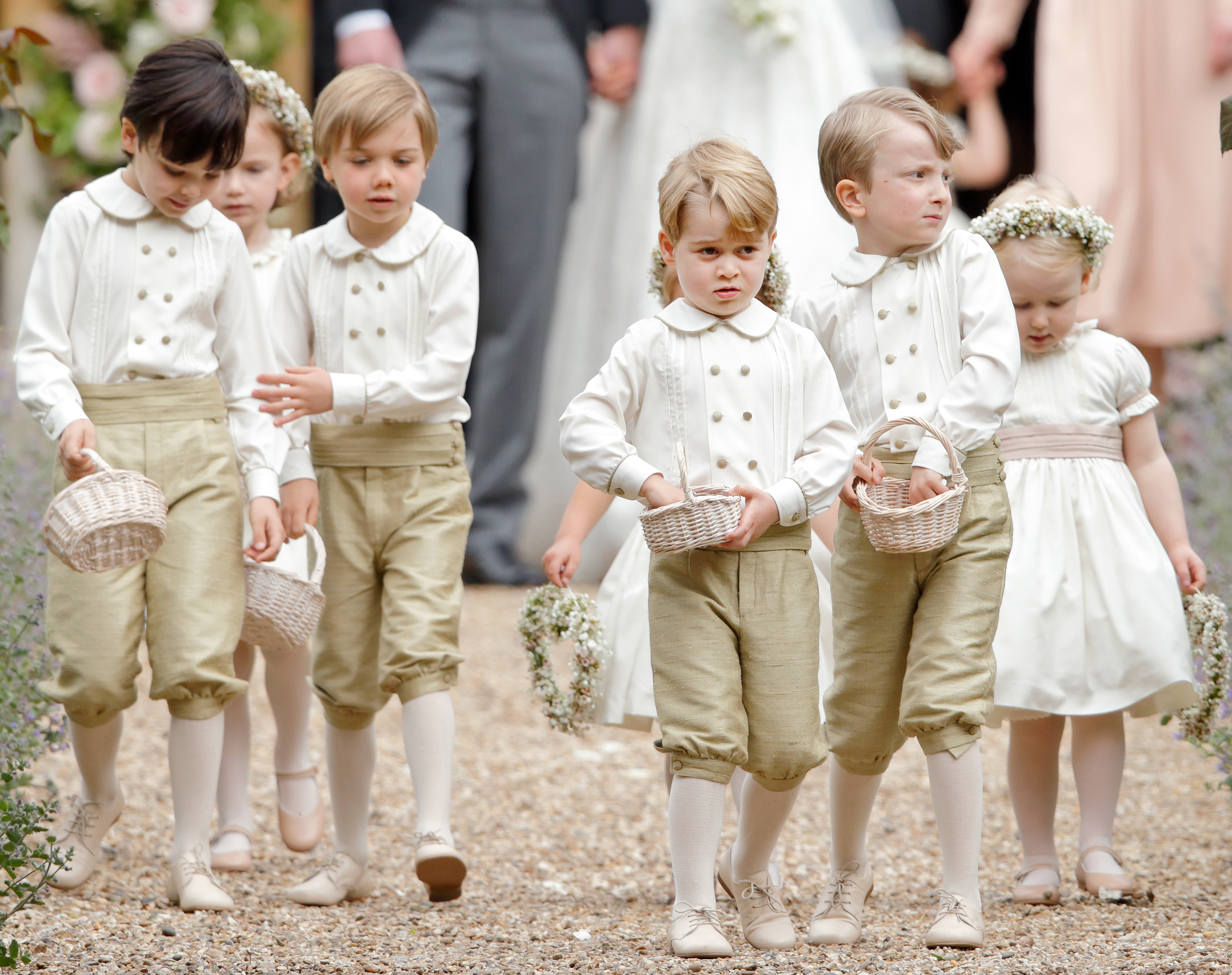 Prince George Outfit Pippa Middleton Wedding