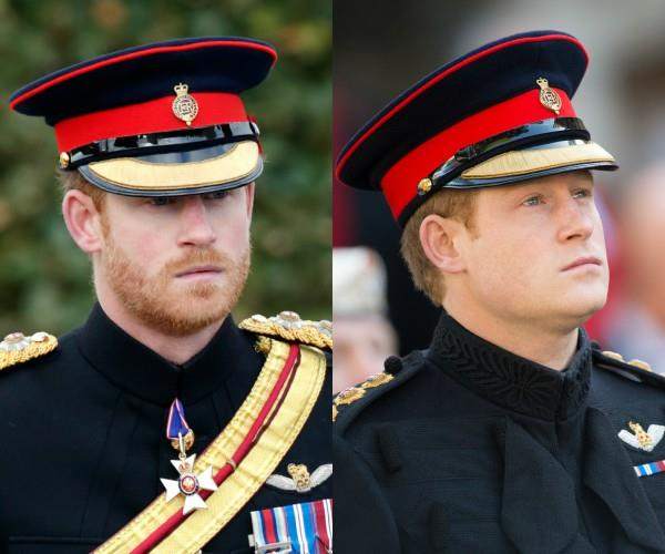 Prince Harry Beard NTL