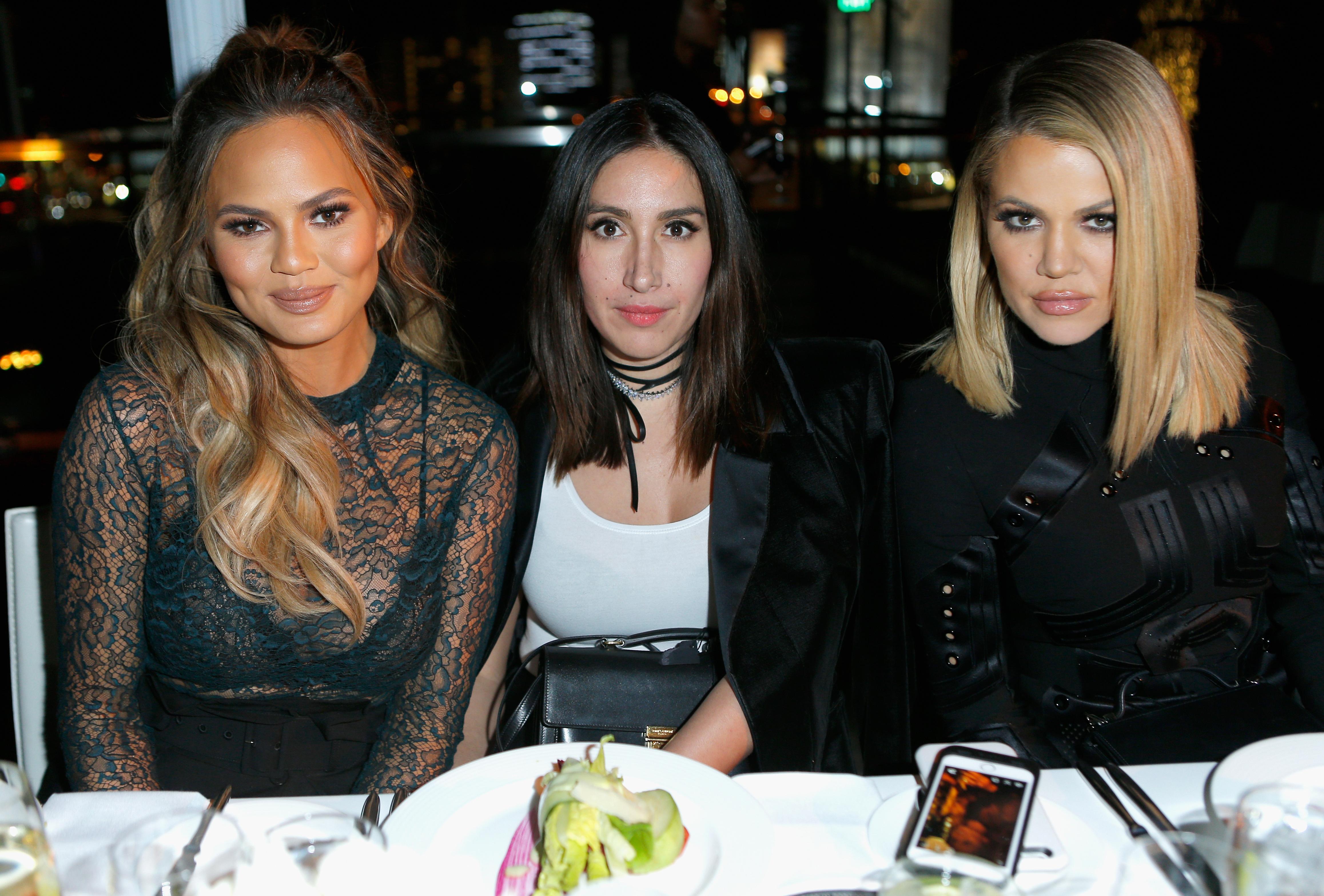 Jen Atkin Chrissy Teigen Khloe Kardashian Getty Images