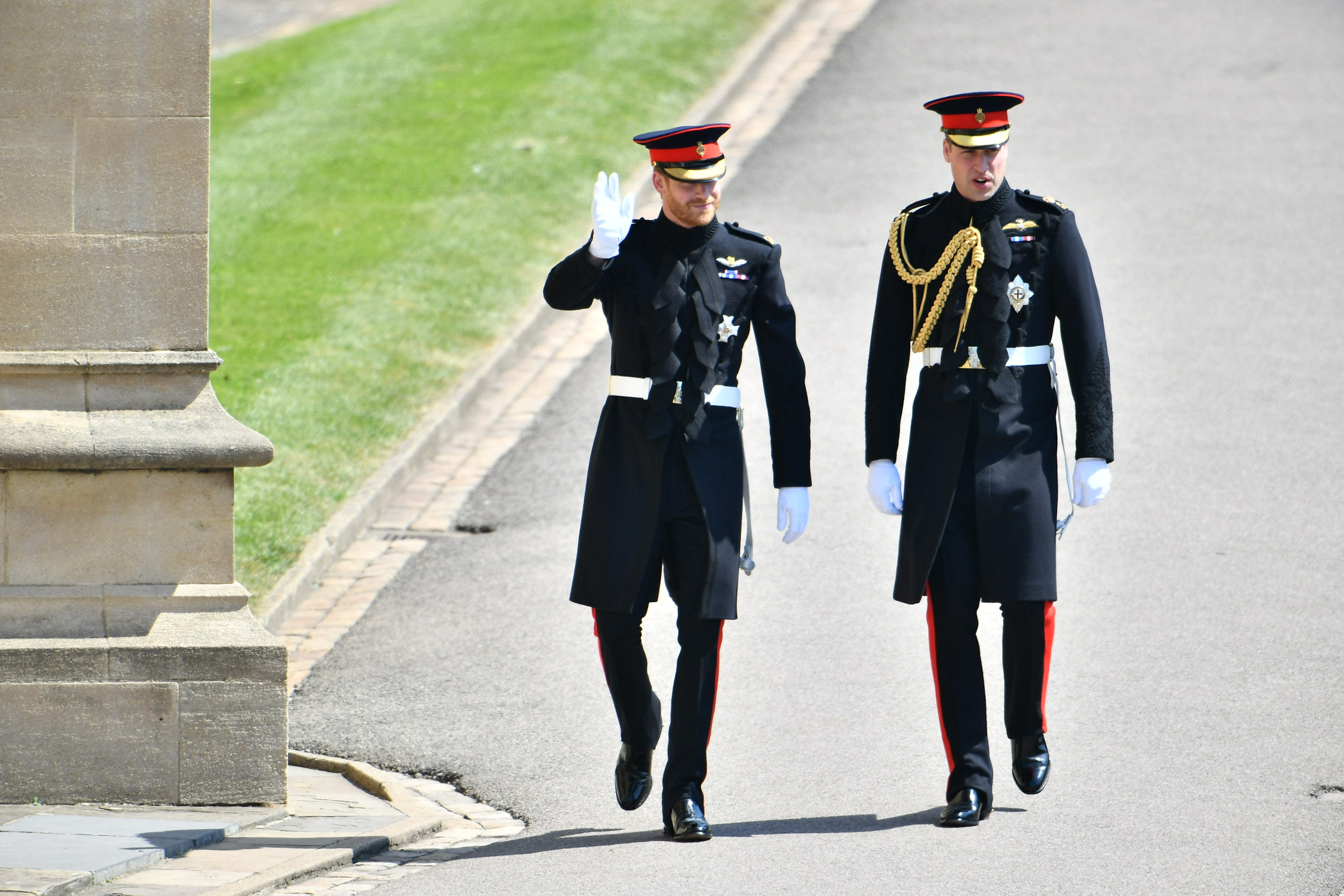 Prince Harry Royal Wedding Arrival Getty Images