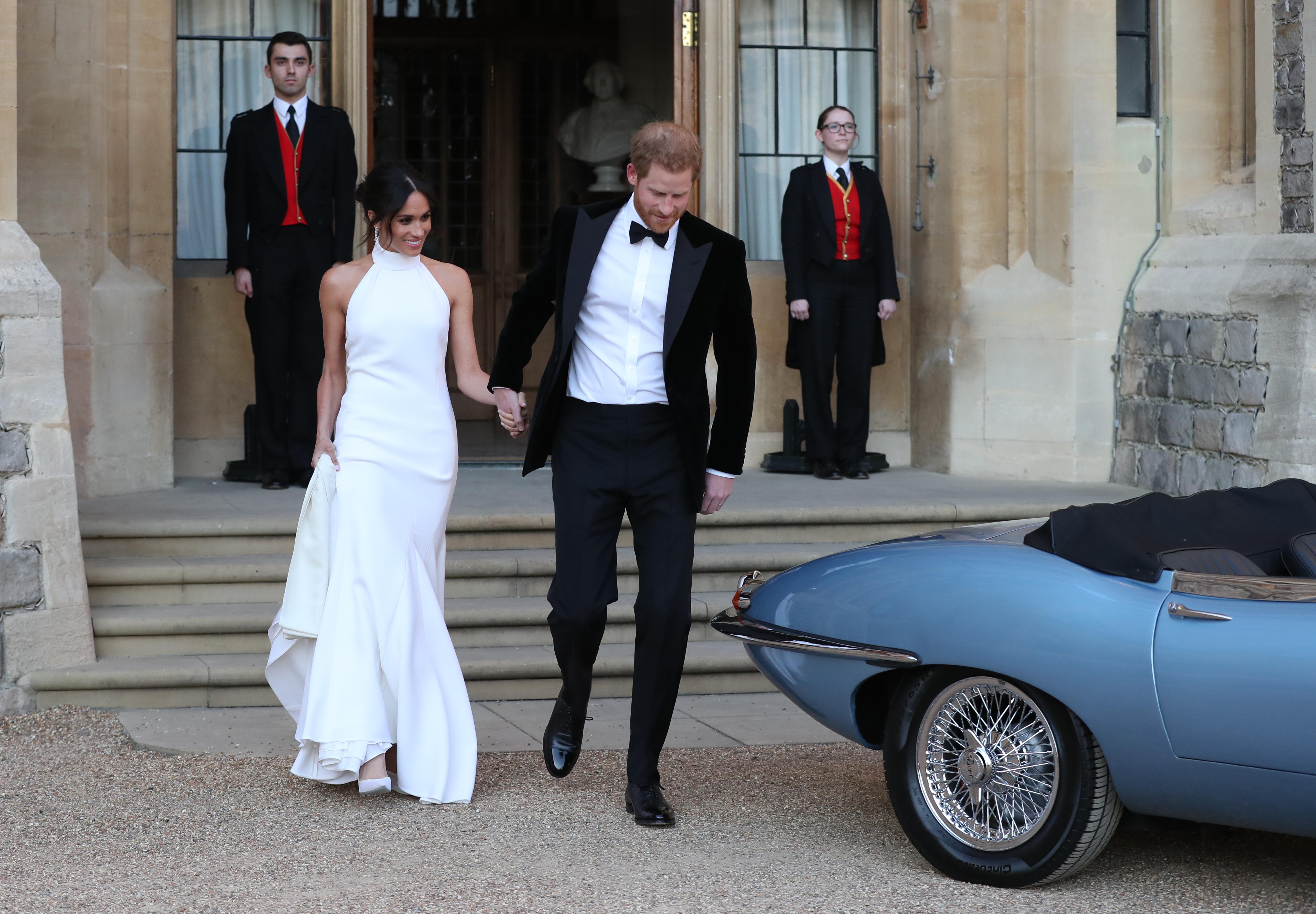 Royal Wedding Jaguar Getty Images