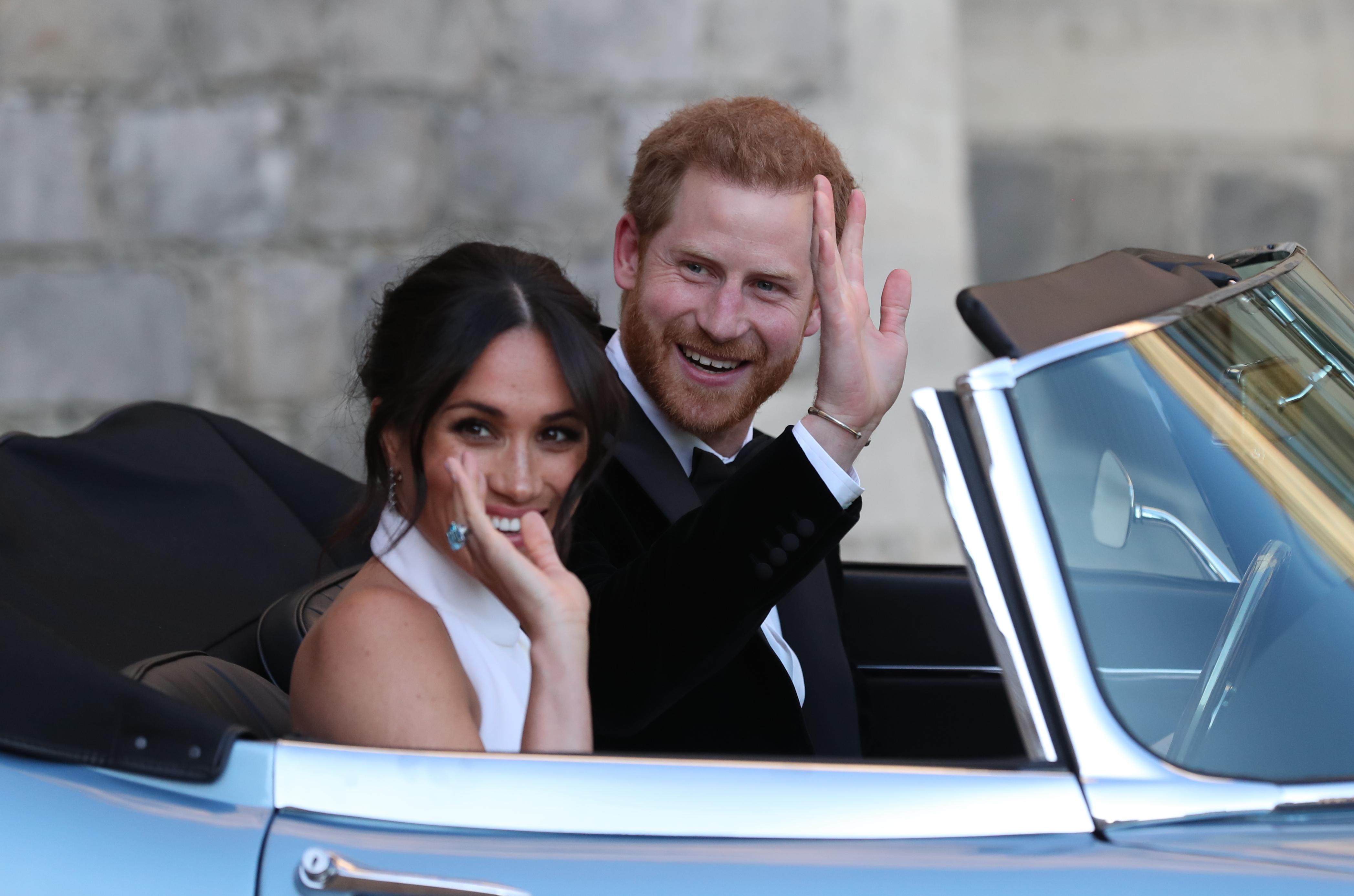 Royal Wedding Rideoff Getty Images
