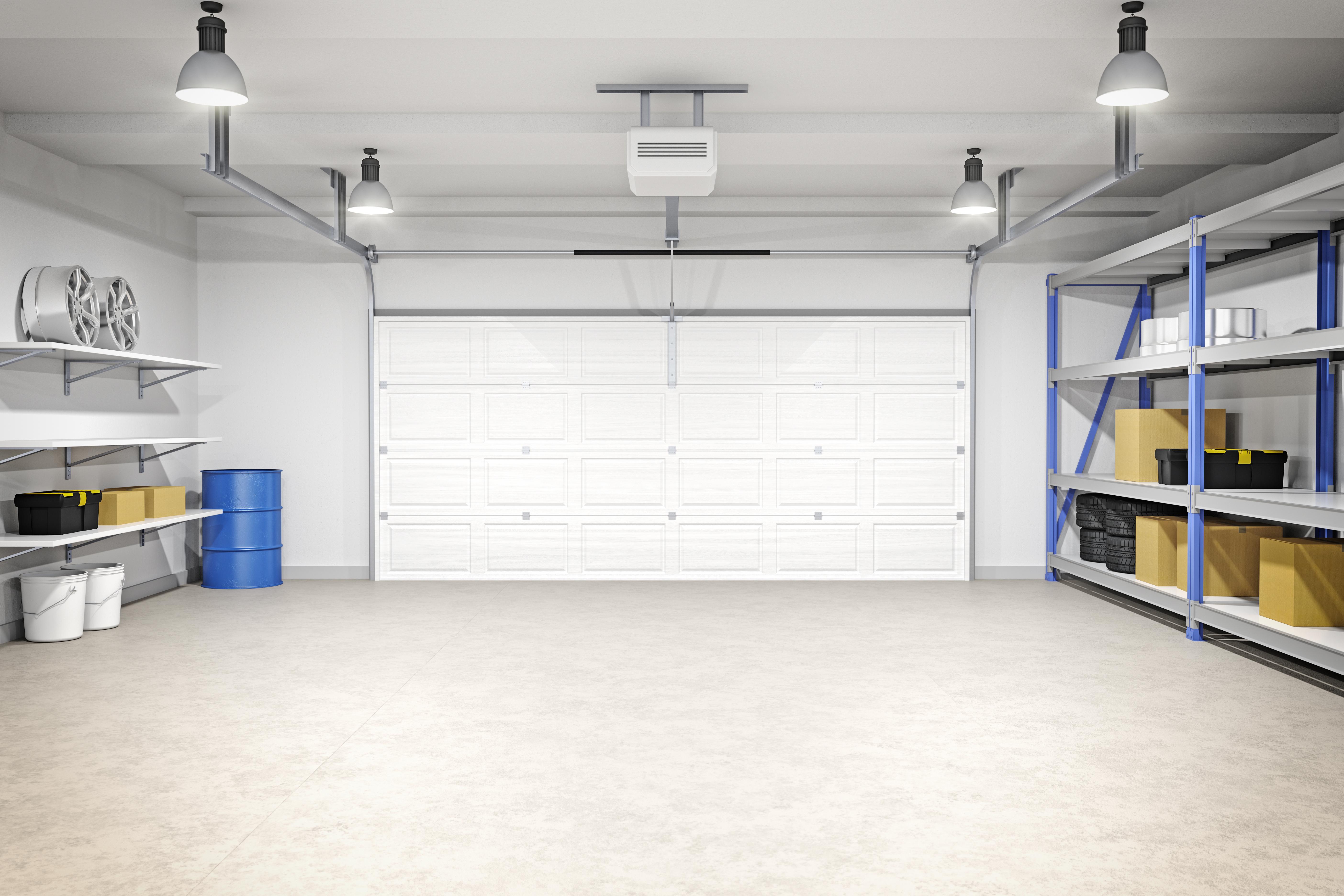 Clean Garage Getty Images
