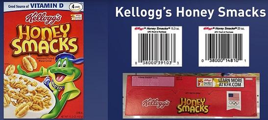Honey Smacks Kellogg's Recall