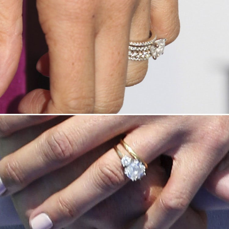 meghan markles two engagement rings