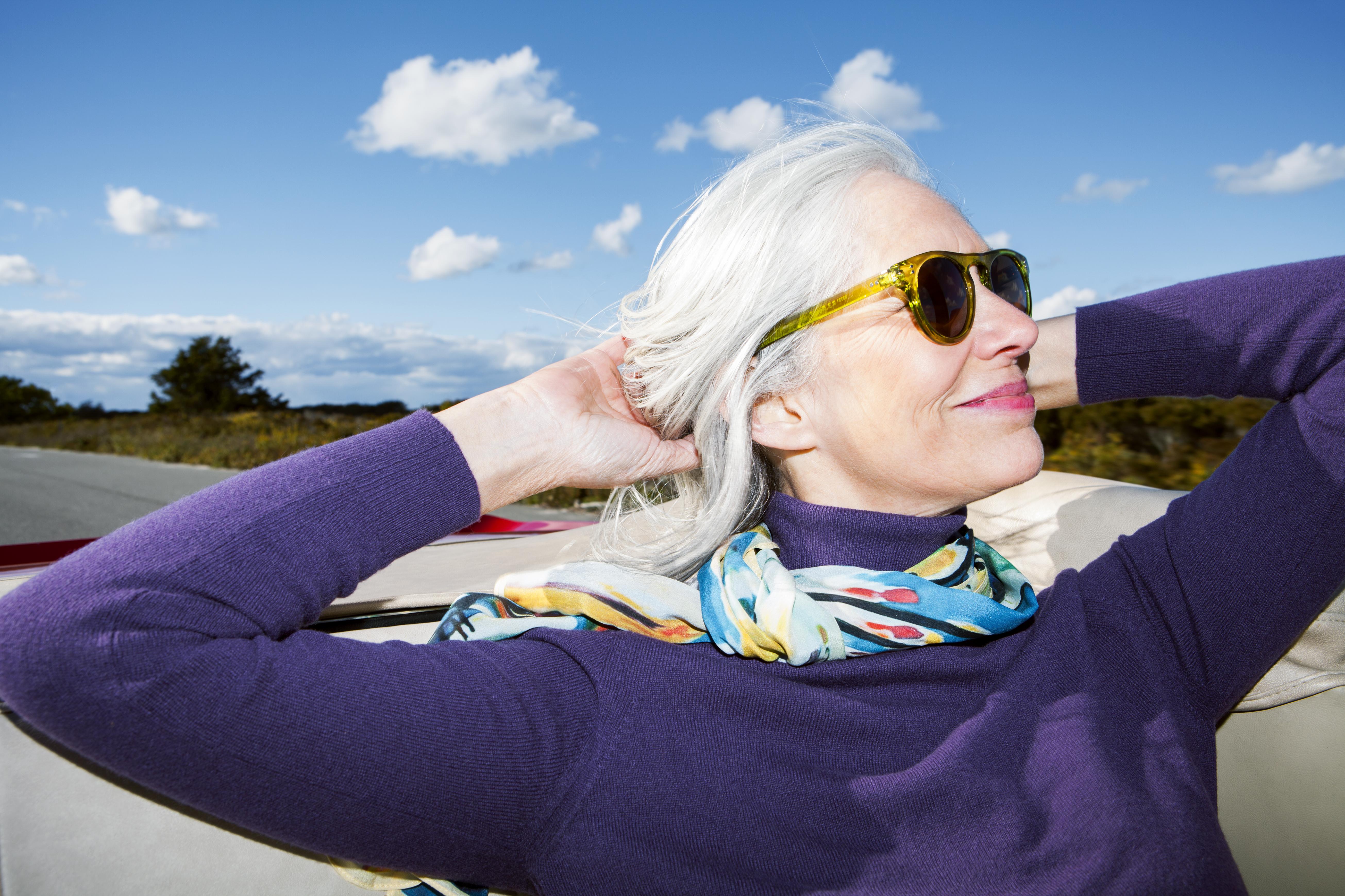 menopause and gray hair