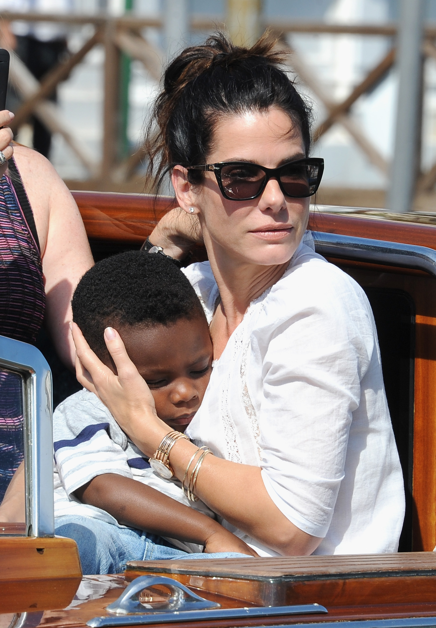 Sandra Bullock, son Louis