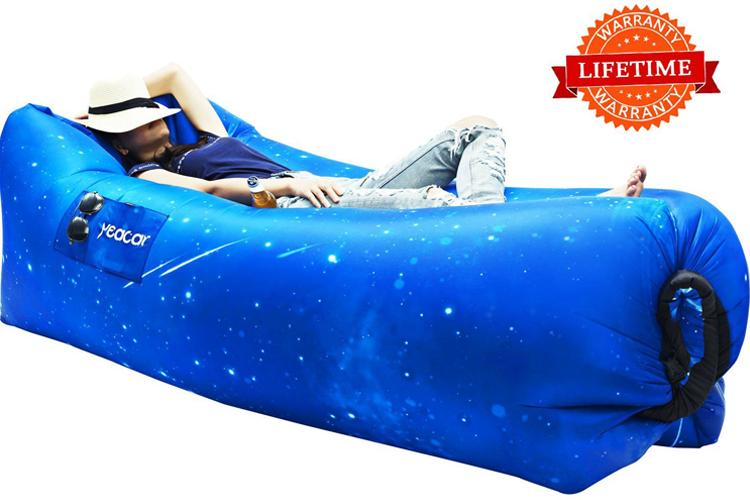 star inflatable sofa