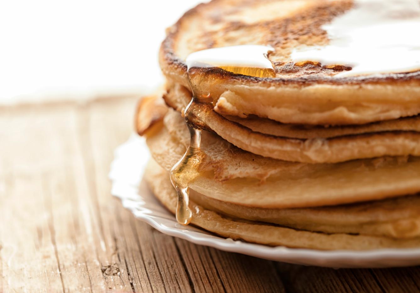 how to reheat a pancake