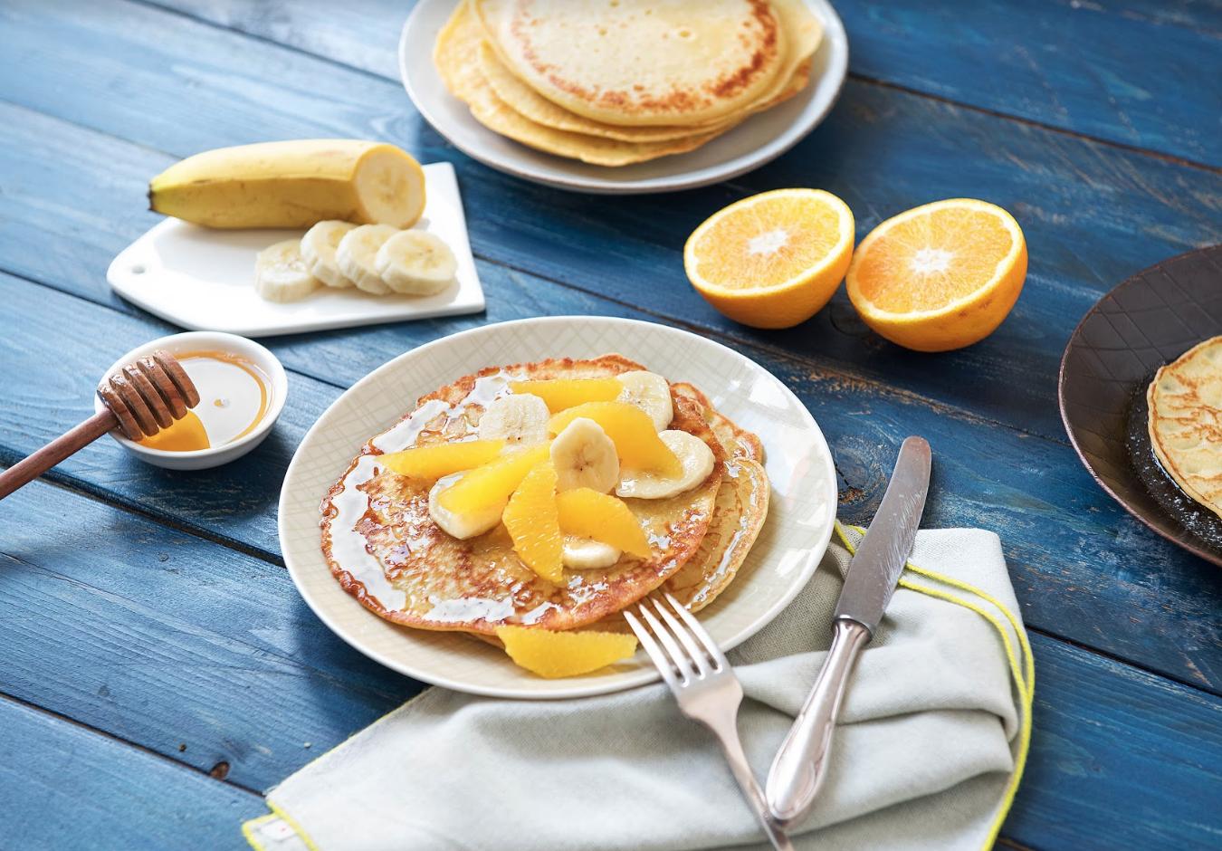 how to reheat frozen pancakes