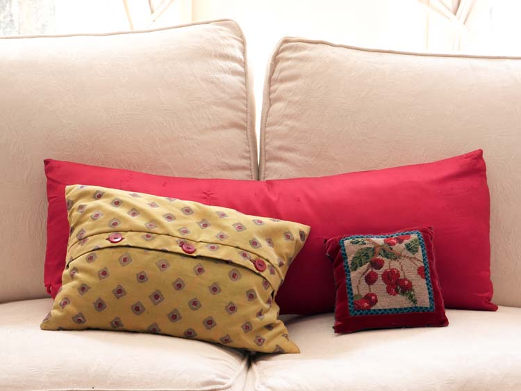 different size pillows