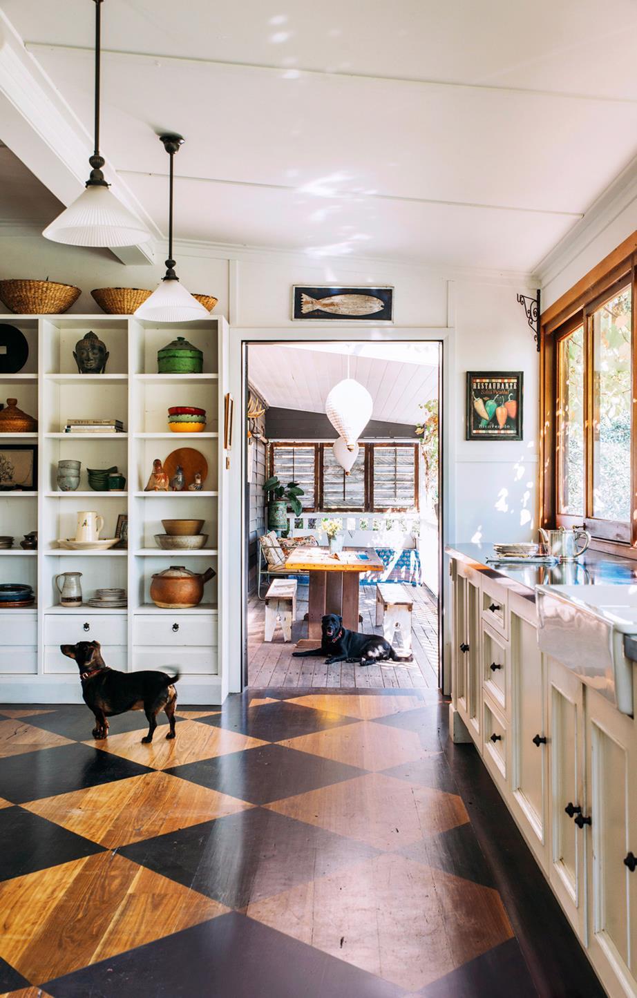 floor update kitchen