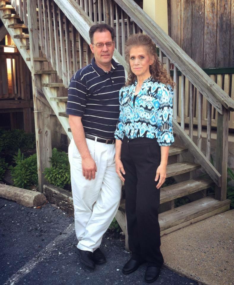 Jennifer Butters and husband