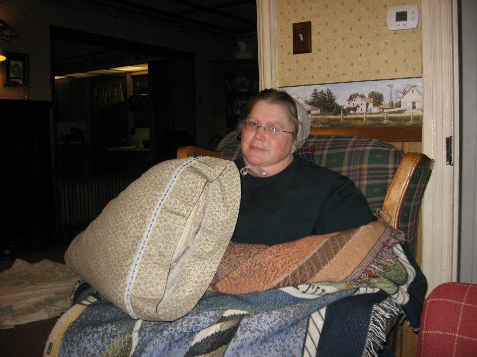 Jennifer Butters in chair