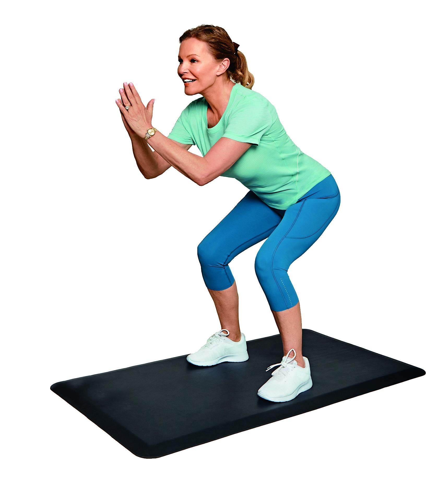 Cheryl Ladd workout