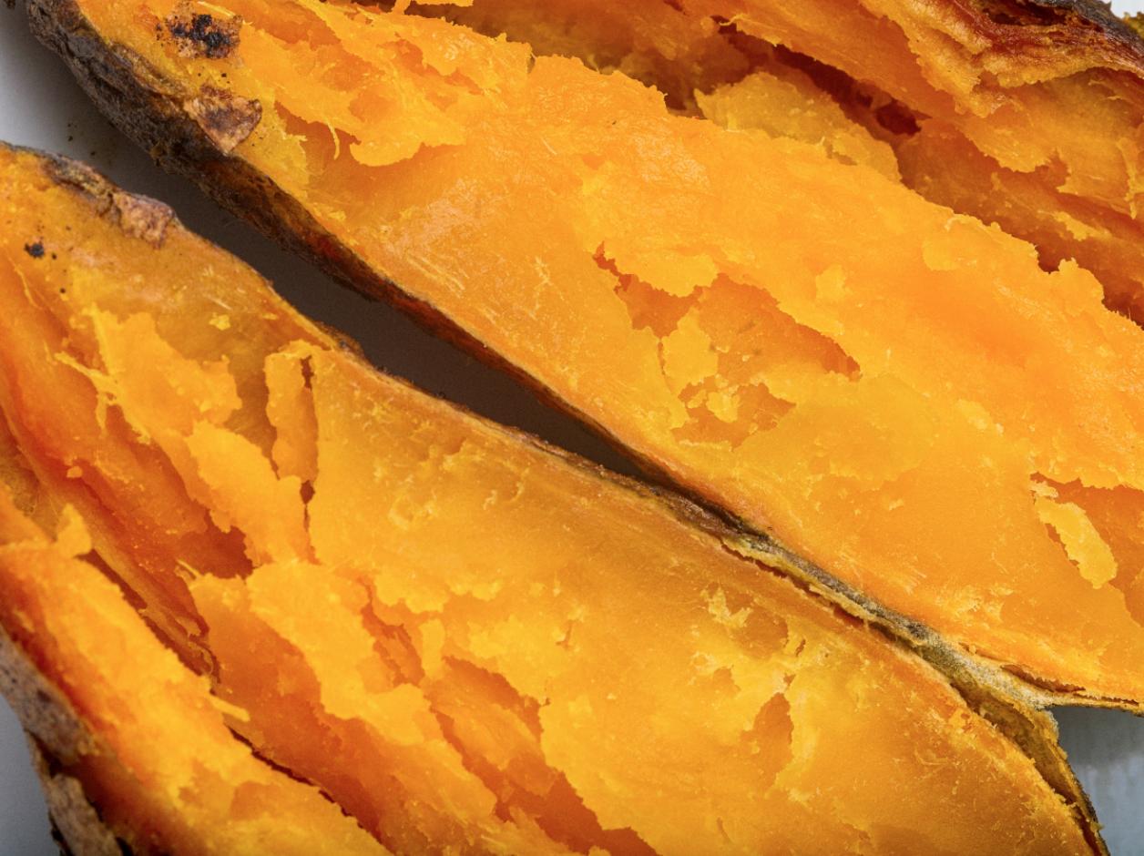 how to bake sweet potatoes microwave