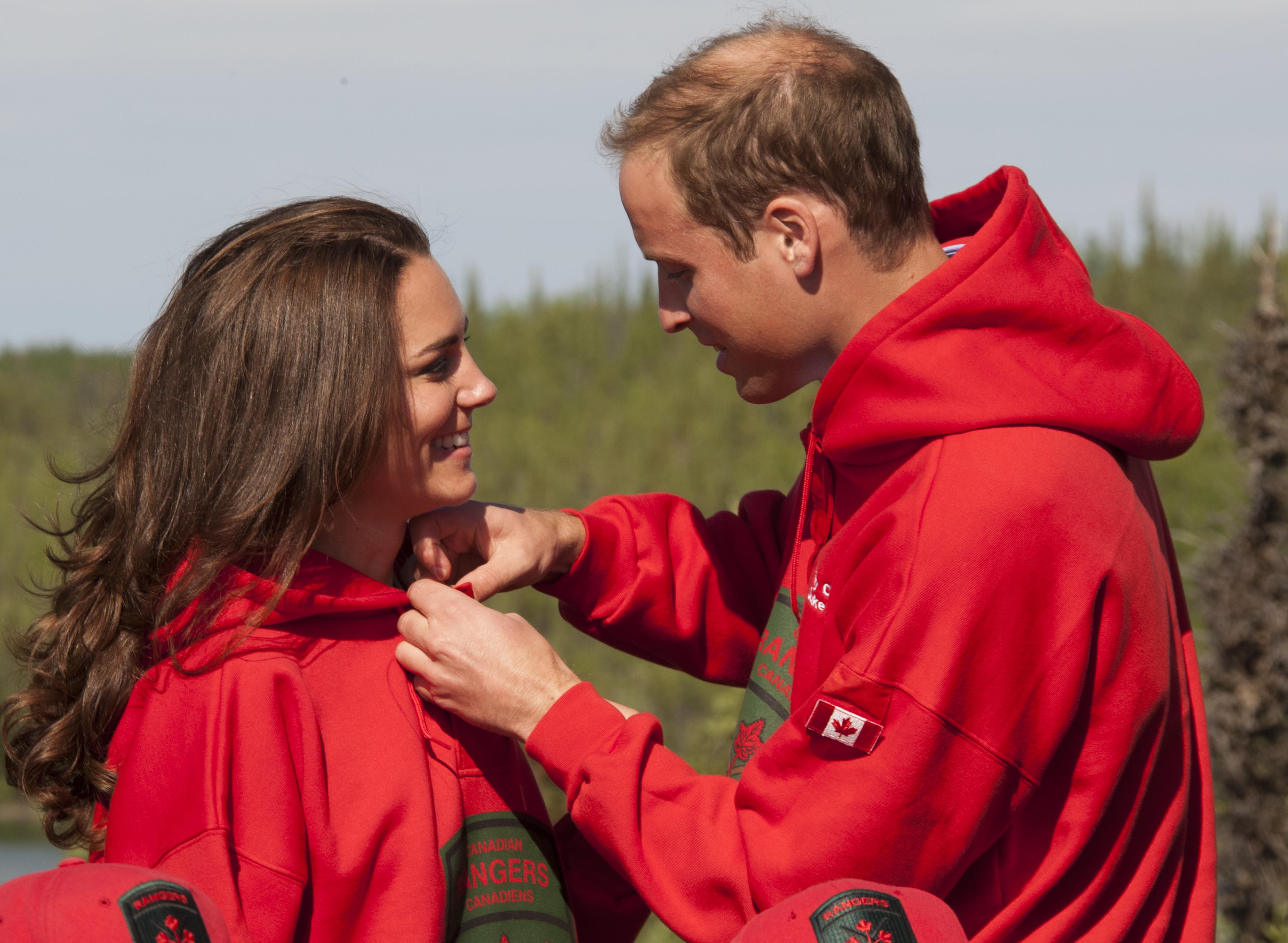 Prince WIlliam Kate Middleton jackets getty