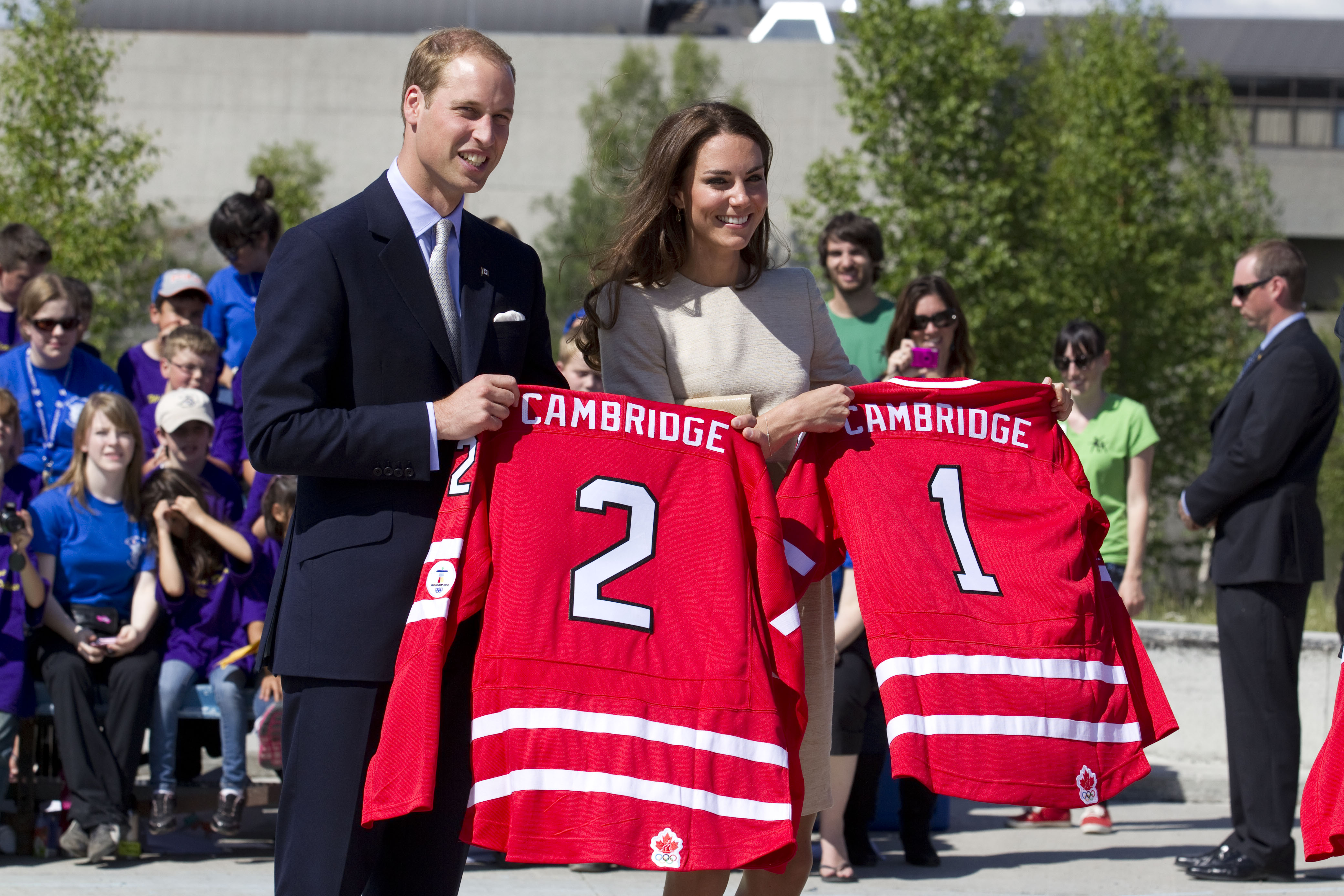 Prince William Kate Middleton Getty