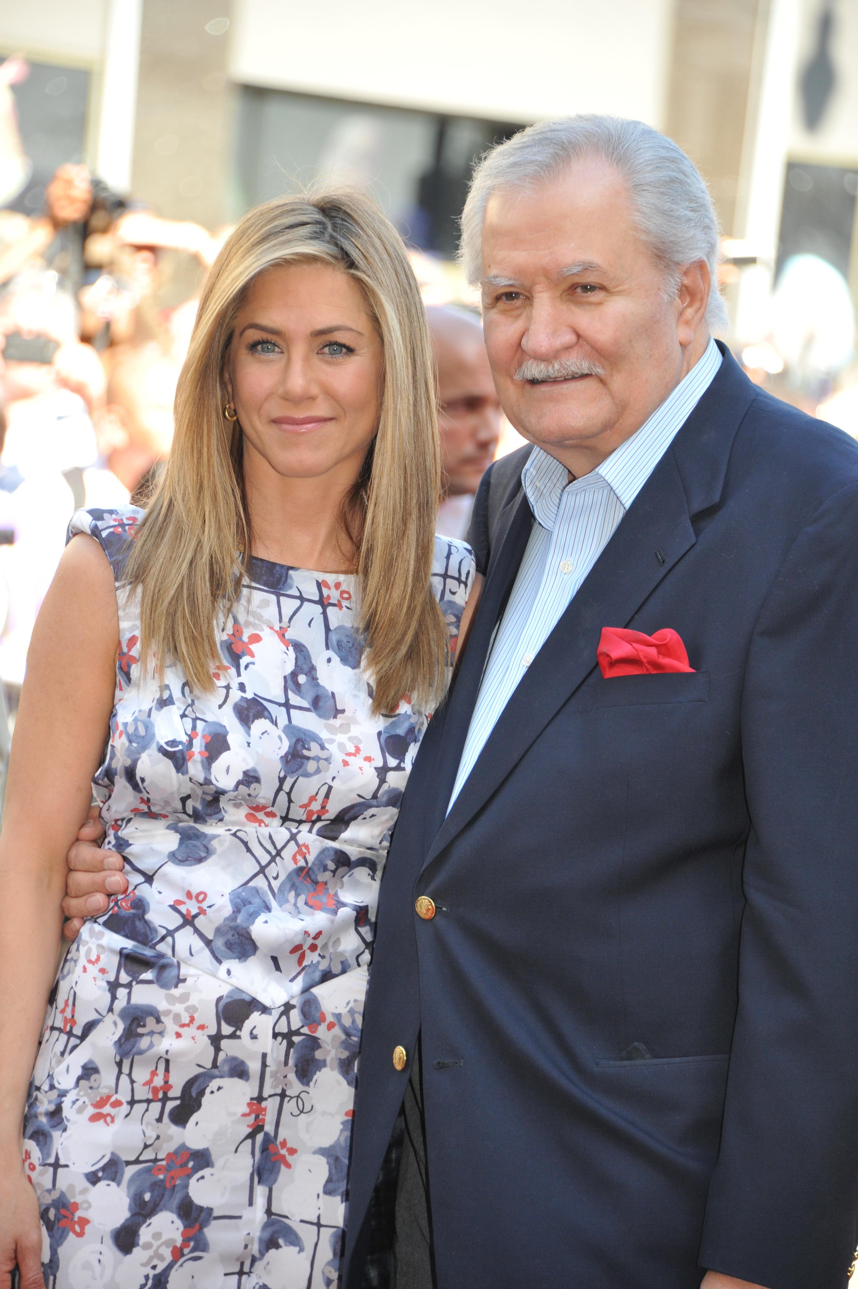 Jennifer Aniston and dad, John Aniston