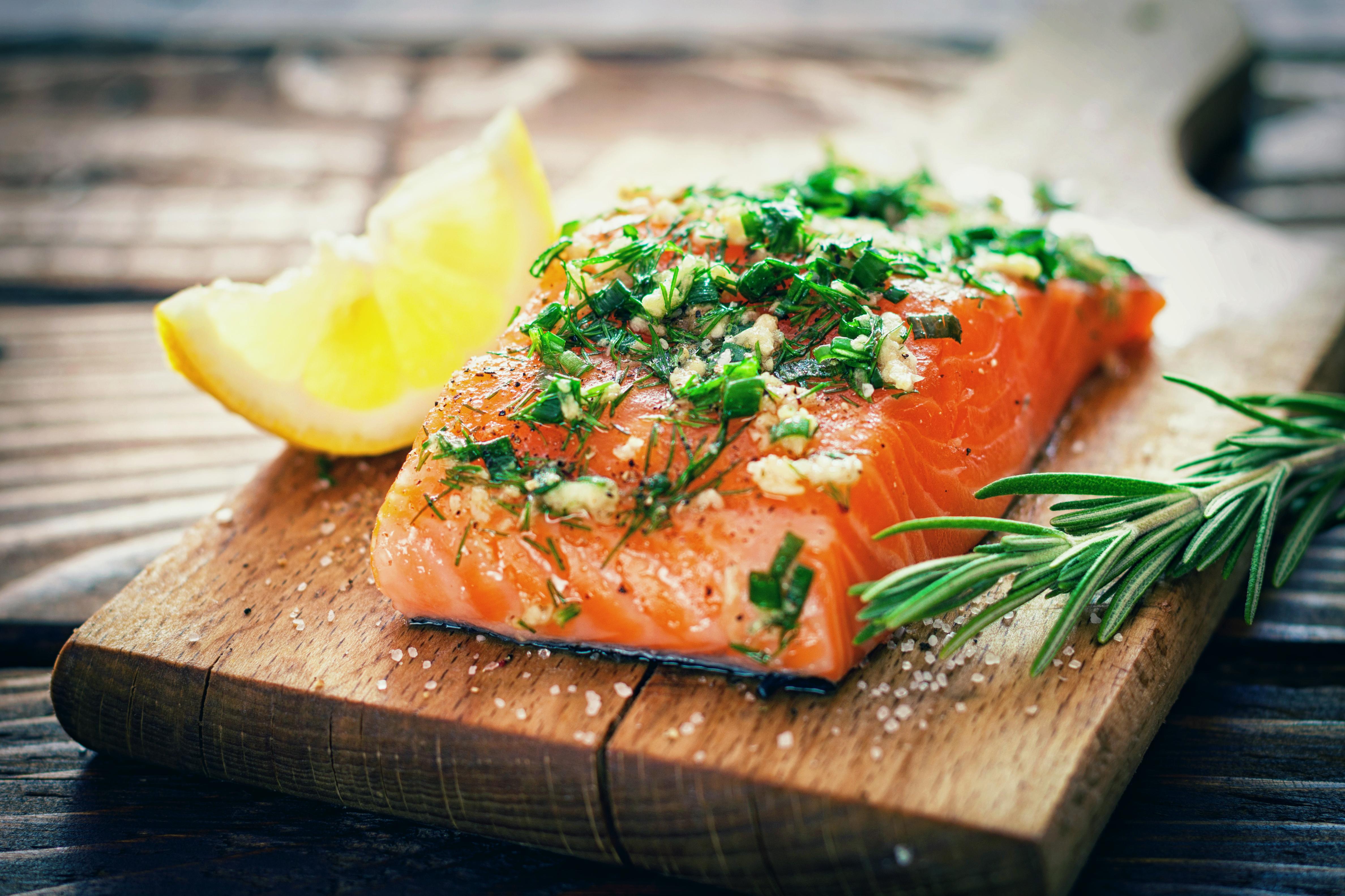 salmon getty