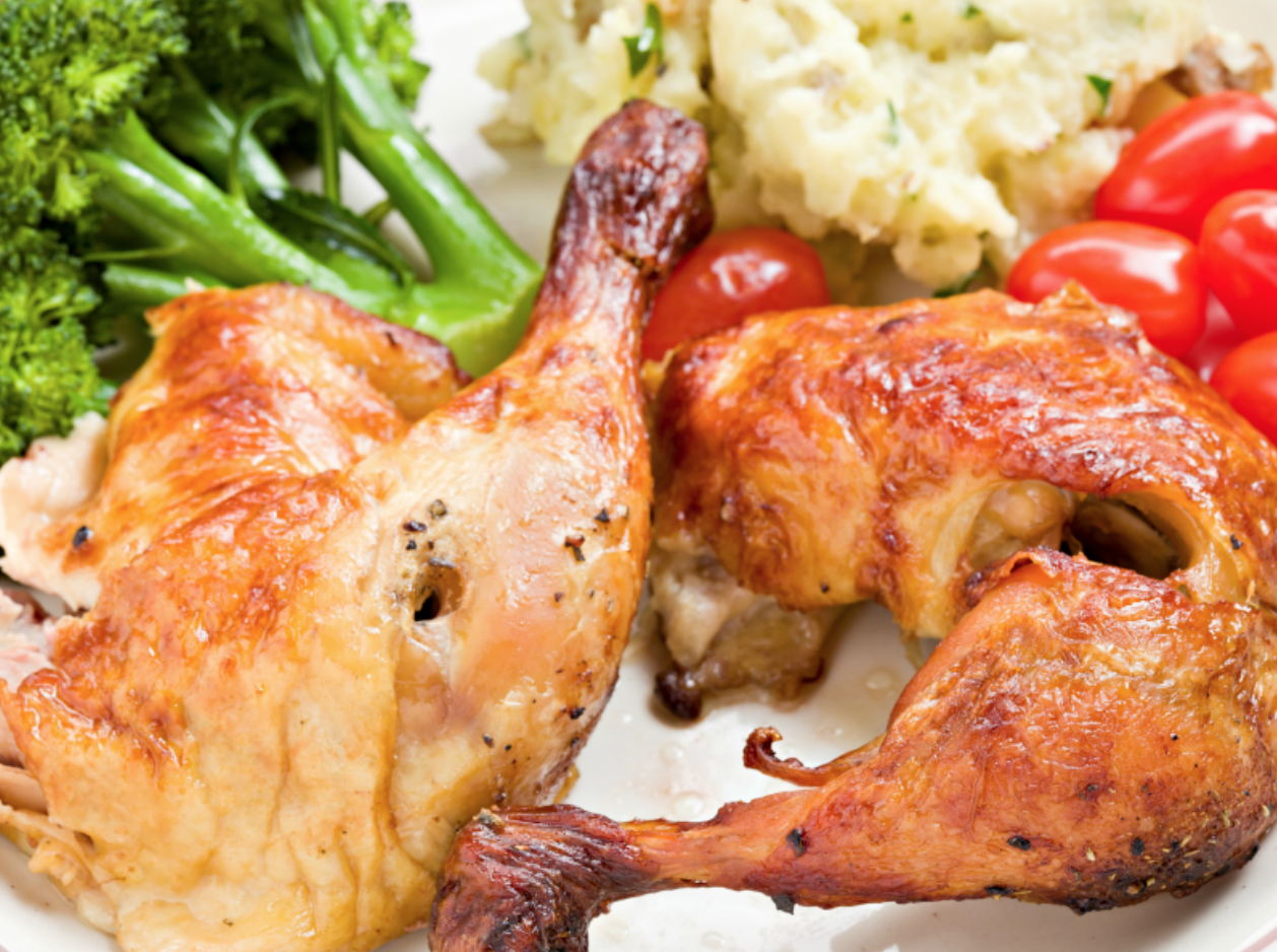 how long to reheat rotisserie chicken