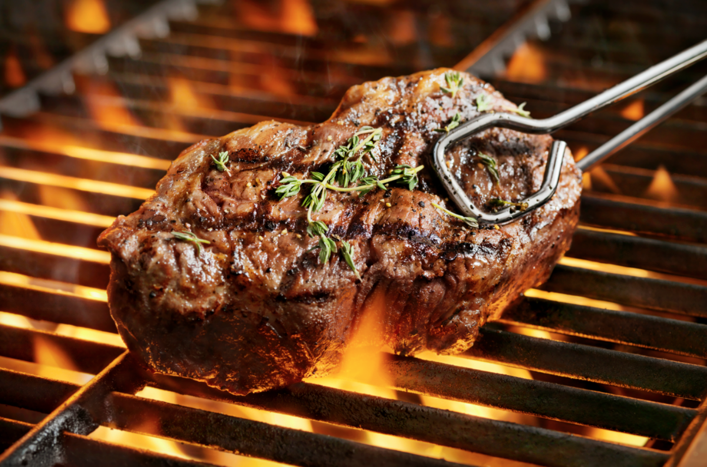 how to reheat steak grill