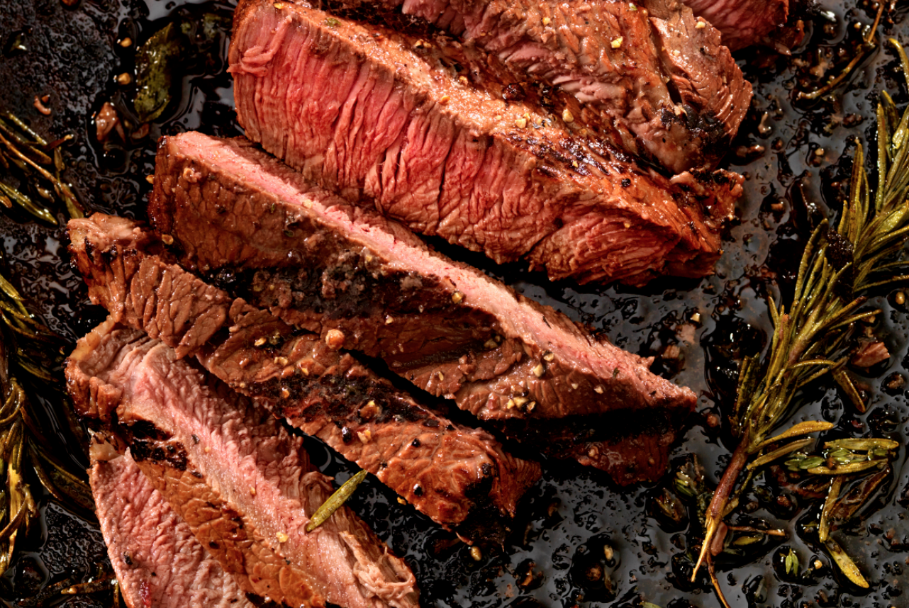 how to reheat steak stove