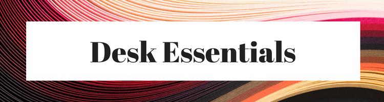 College Packing List Desk Essentials