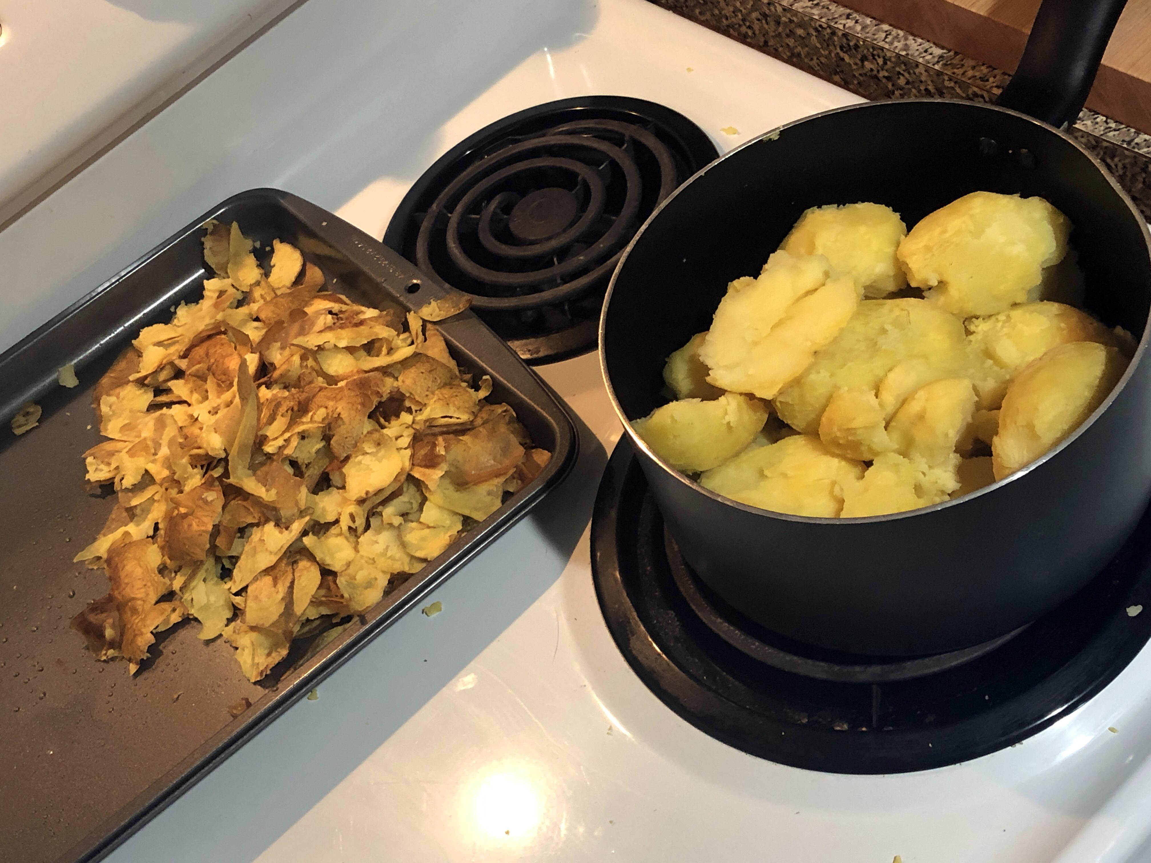 Thanksgiving mashed potatoes